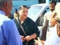 Video : Jayalalithaa back in Chennai after day in court