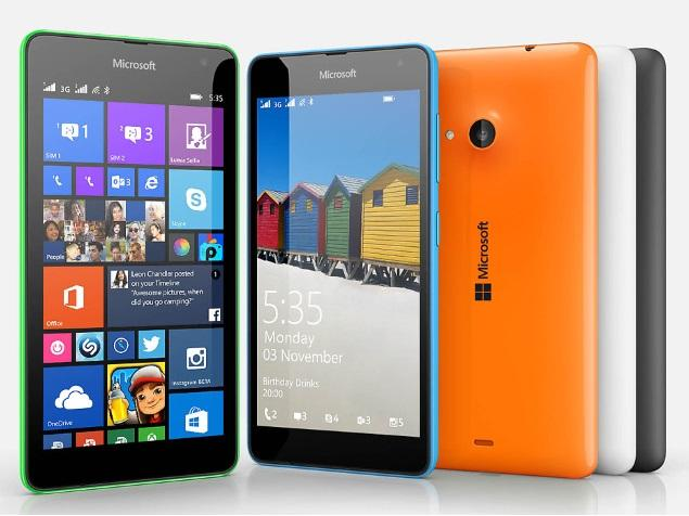 Nokia Lumia 535 Saturn: Microsoft Lumia 535 Dual SIM Price In India