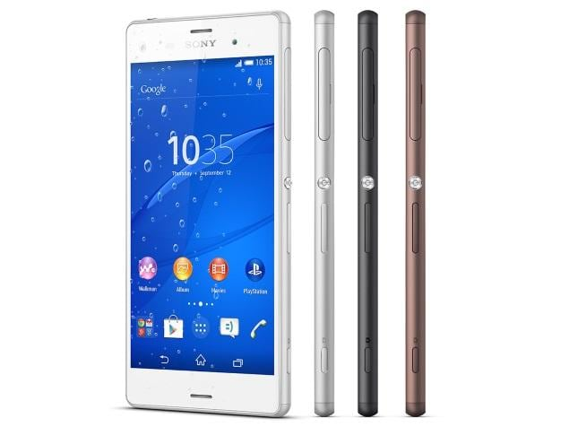 Sony Xperia Z3 Dual price in India