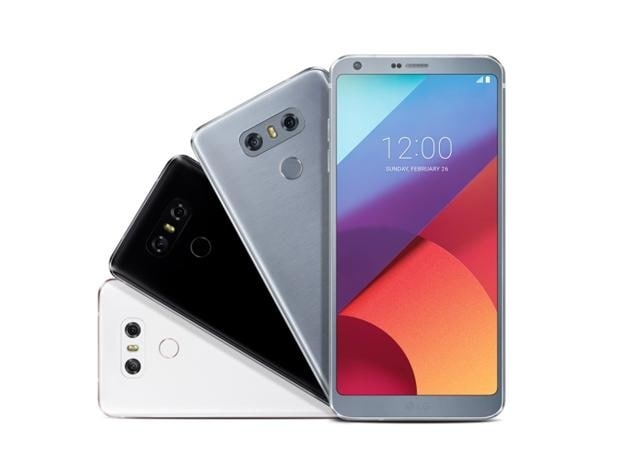LG G6 price in India