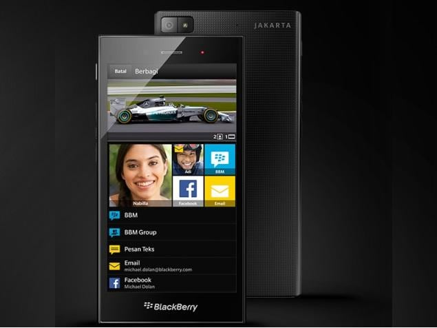 BlackBerry Fights Back With Budget Z3 Smartphone Launch on Tuesday
