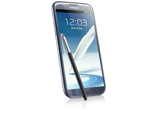 Samsung Galaxy Note II Design Images