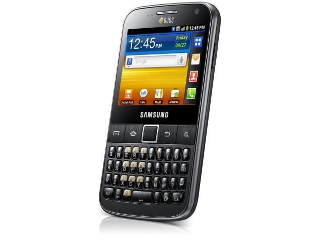 Samsung Galaxy Y Pro Duos Design Images