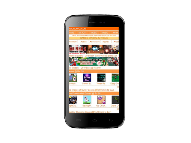 Micromax Canvas 3D