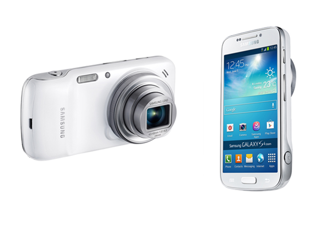 Samsung Galaxy S4 Zoom Design Images
