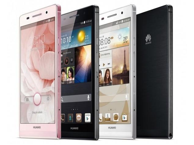Huawei Ascend P6 Design Images
