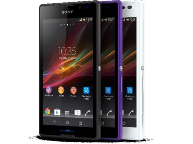 Sony Xperia C Design Images