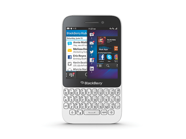 BlackBerry Q5 launched in India for Rs. 24,990
