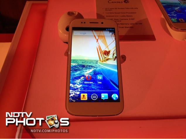 Micromax Canvas 4 is bearing the brunt of heightened expectations