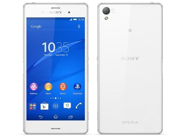 sony xperia z3 price in india specifications comparison. Black Bedroom Furniture Sets. Home Design Ideas