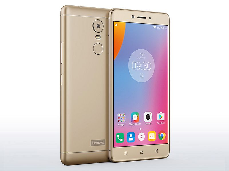 Lenovo K6 Note price, specifications, features, comparison