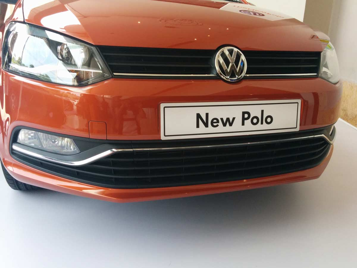 2014 Volkswagen Polo Facelift Photo Gallery