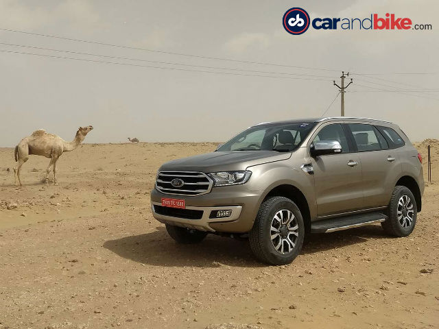 Photo : 2019 Ford Endeavour Facelift