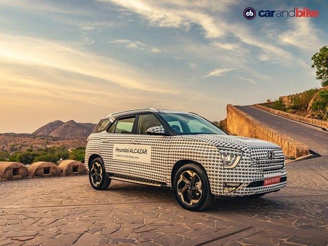 Photo : 2021 Hyundai Alcazar SUV