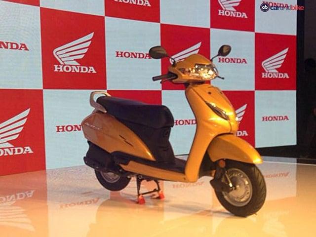 Photo : ऑटो एक्सपो 2018: ये है होंडा मोटरसाइकल की ऐक्टिवा 5G