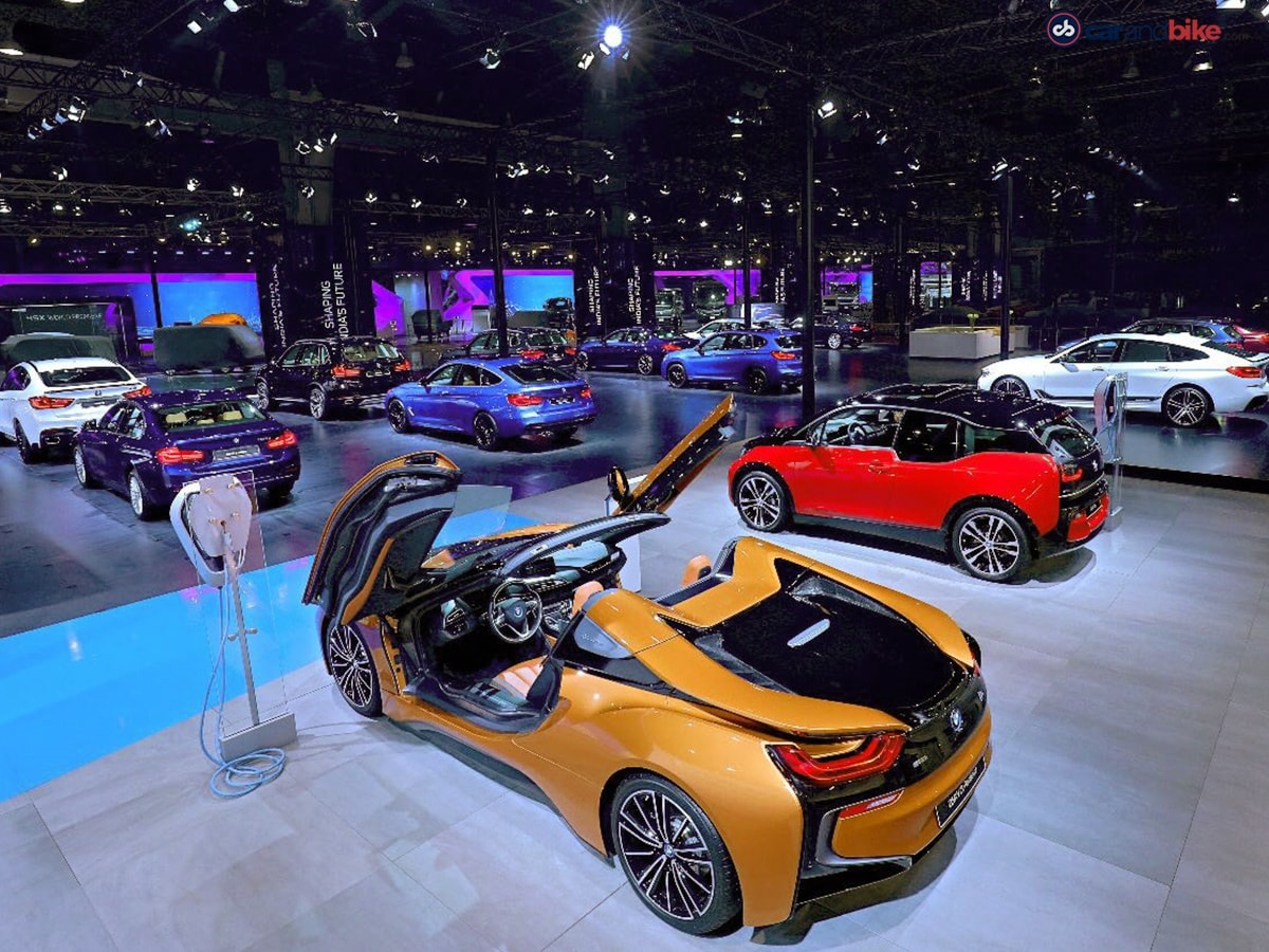 auto expo 2018 bmw cars and bikes. Black Bedroom Furniture Sets. Home Design Ideas