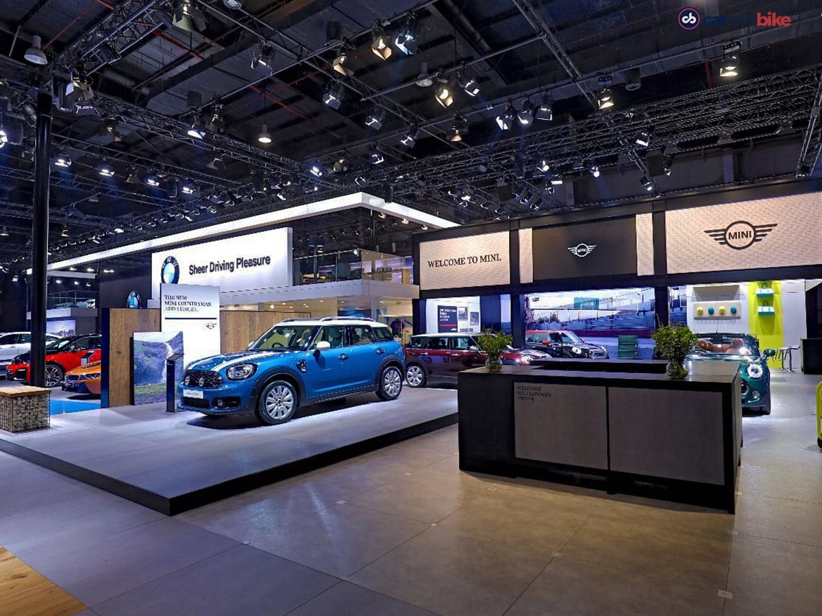 Auto Expo BMW Cars And Bikes - Bmw car show 2018