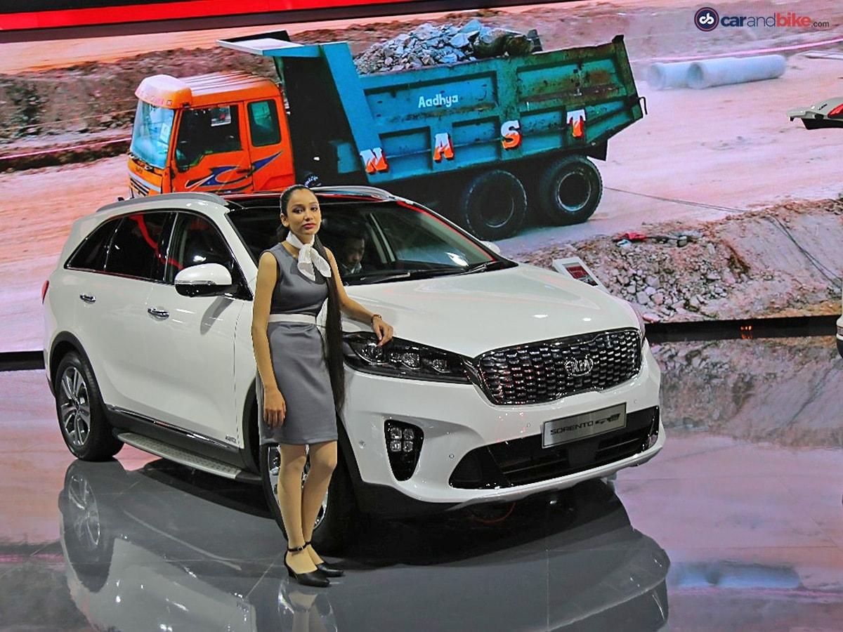 Auto Expo 2018 Kia Cars