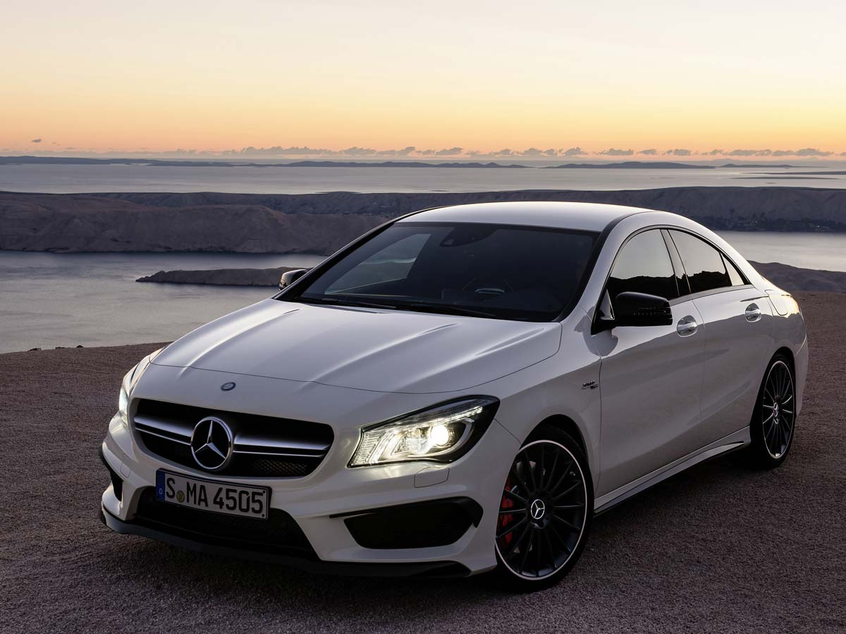 mercedes benz cla 45 amg. Black Bedroom Furniture Sets. Home Design Ideas