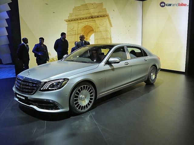 Photo : Auto Expo 2018: Mercedes-Benz Cars
