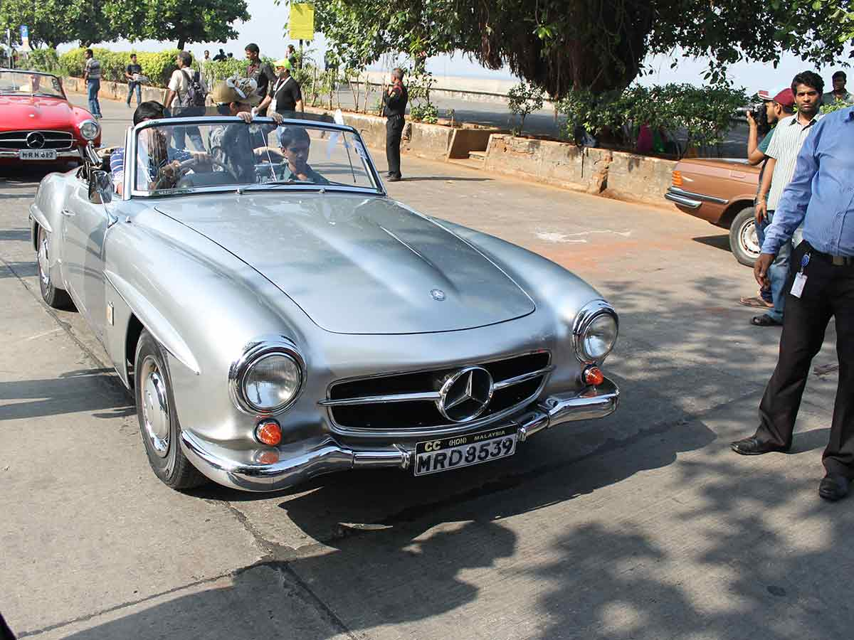 Mercedes benz classic car rally photo gallery for Mercedes benz vintage cars
