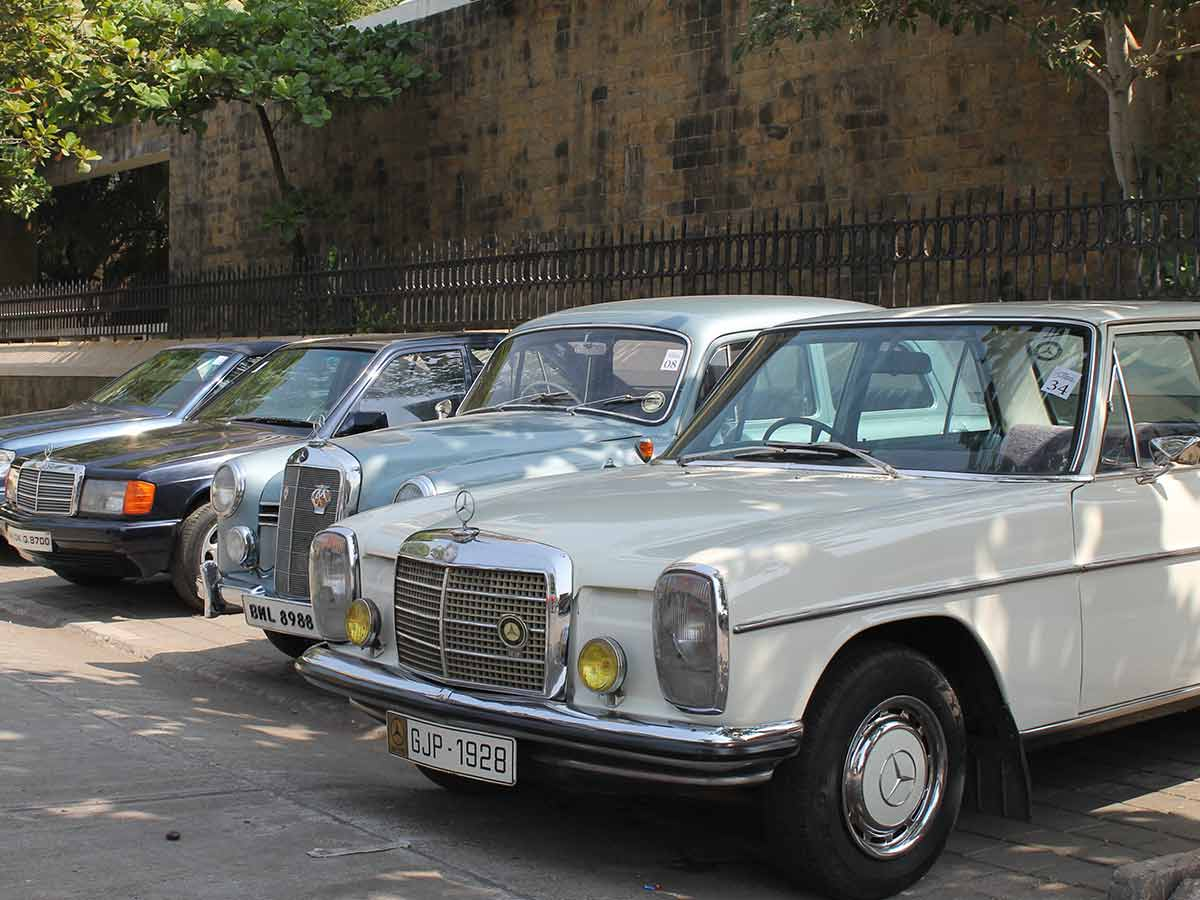 Mercedes Benz Classic Car Rally Photo Gallery