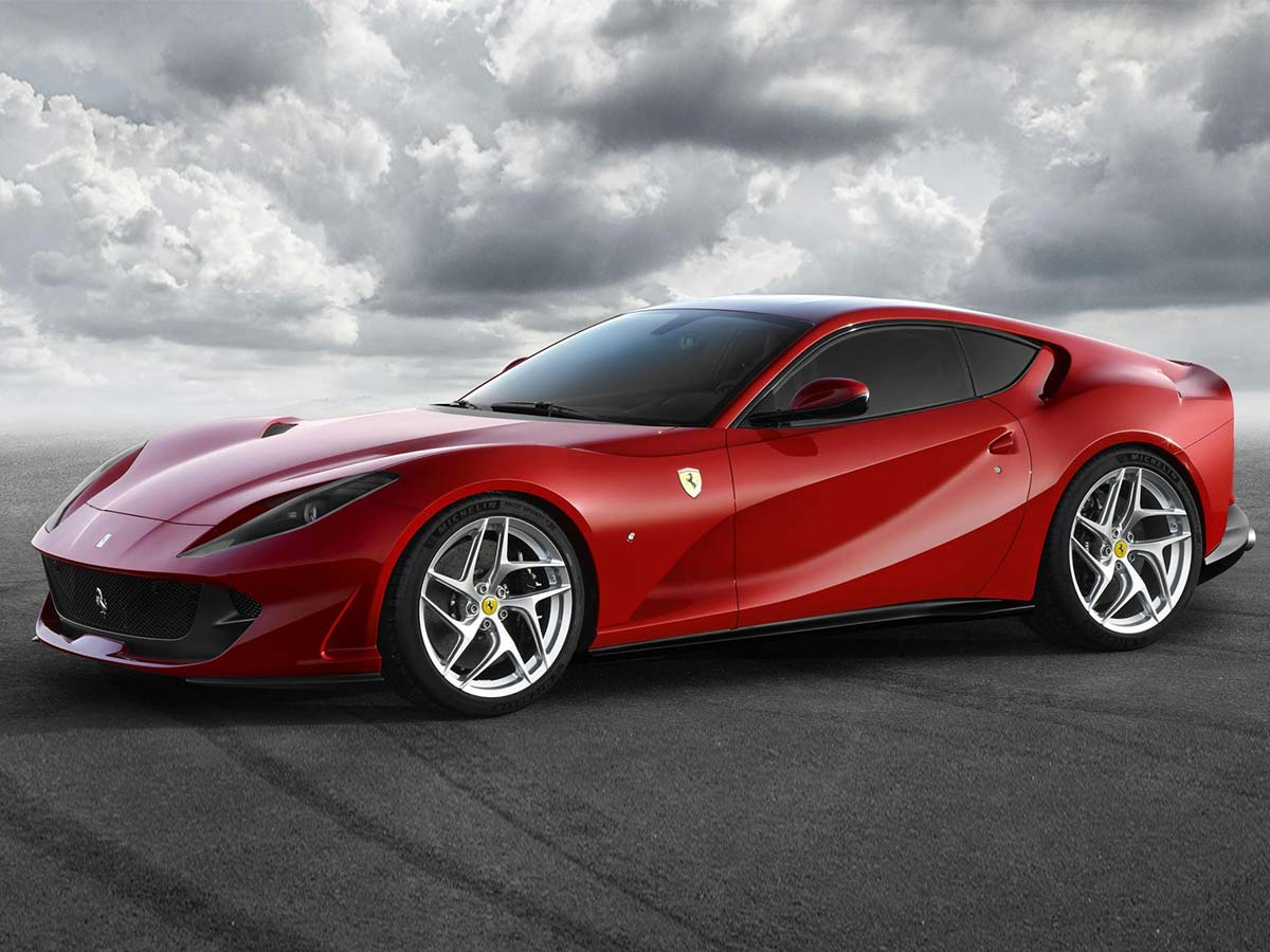Used Car Loan >> New Ferrari 812 Superfast