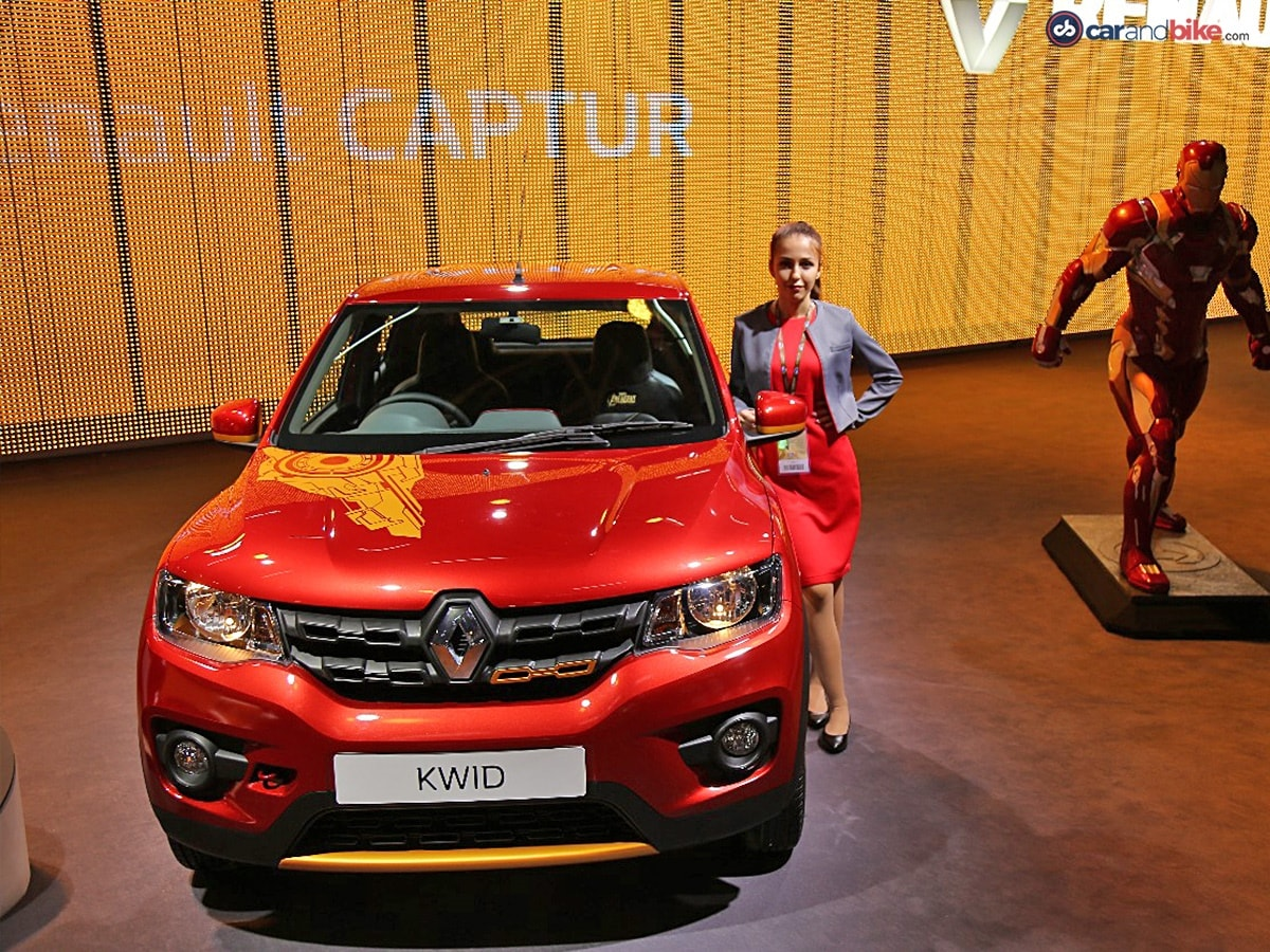 Car Expo Standsaur : Auto expo renault cars