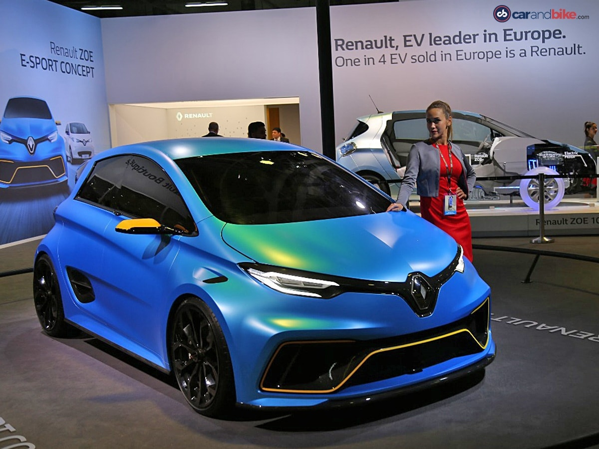 auto expo 2018 renault cars. Black Bedroom Furniture Sets. Home Design Ideas