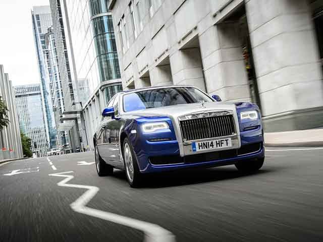 Photo : Rolls-Royce Ghost Series II Photo Gallery