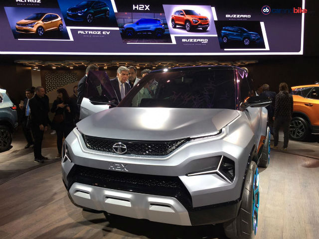 Photo : Tata H2X Concept