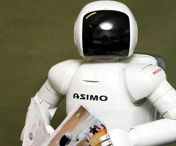 Honda's ASIMO robot turns 10