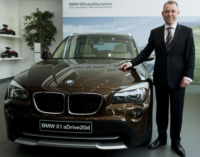 BMW launches SUV 'X1\' at Rs 22 lakh