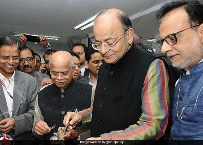 With \'Halwa Ceremony\', North Block Starts Budget Document Printing