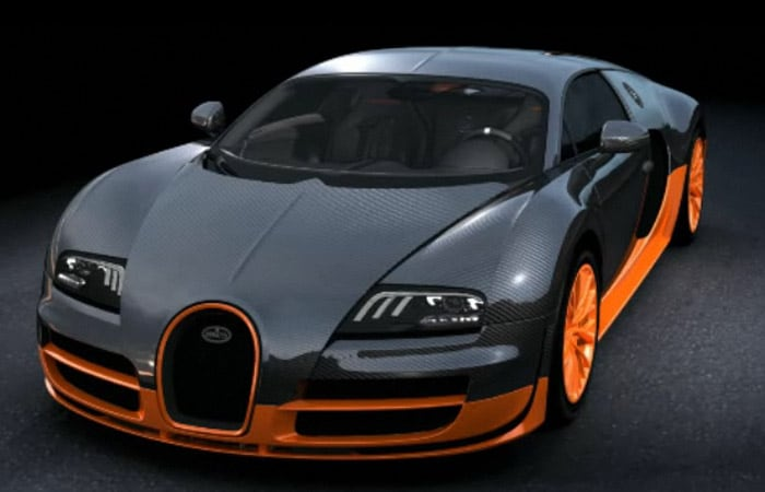 Bugatti veyron fastest car in the world