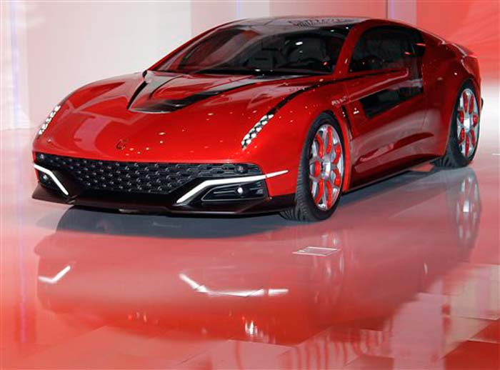 Hot cars at Geneva Motor Show