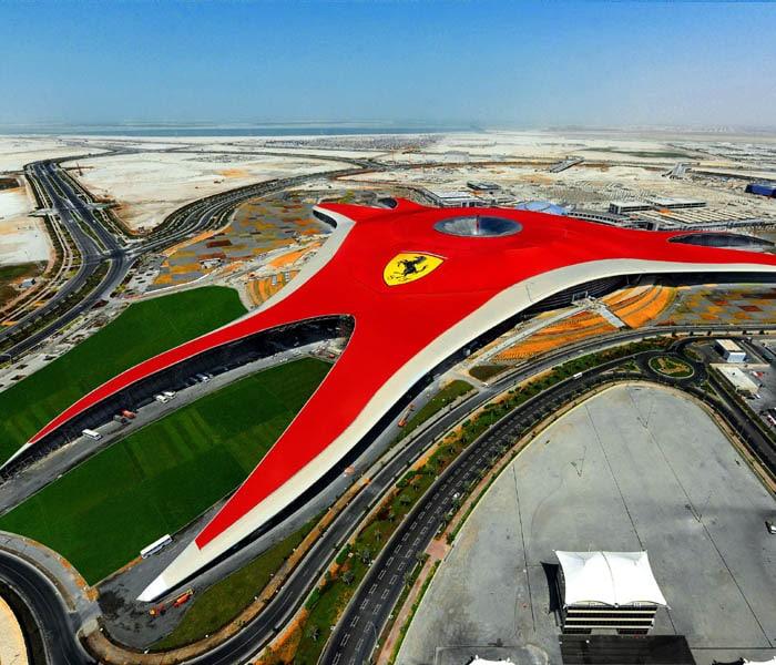 World S First Ferrari Theme Park In Abu Dhabi Photo Gallery