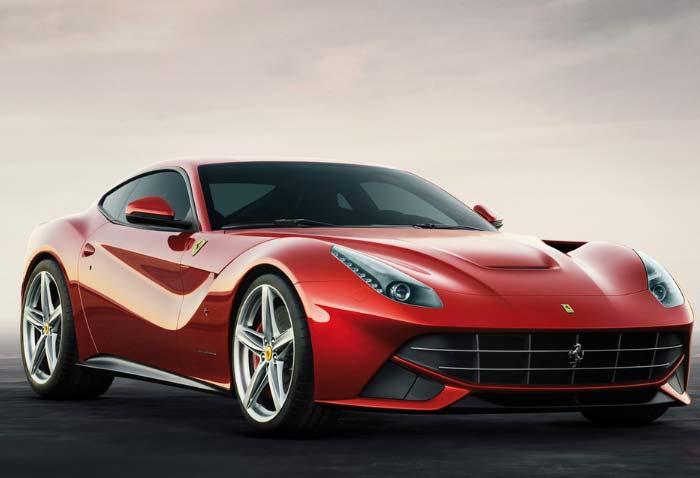 Ferrari unveils fastest supercar F12 Berlinetta