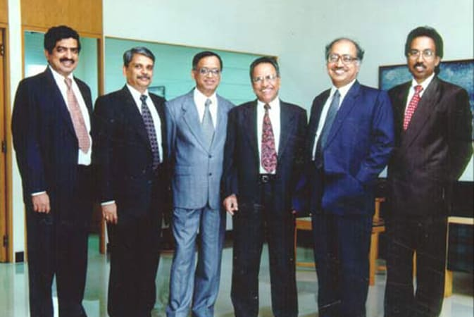 The men behind Infosys