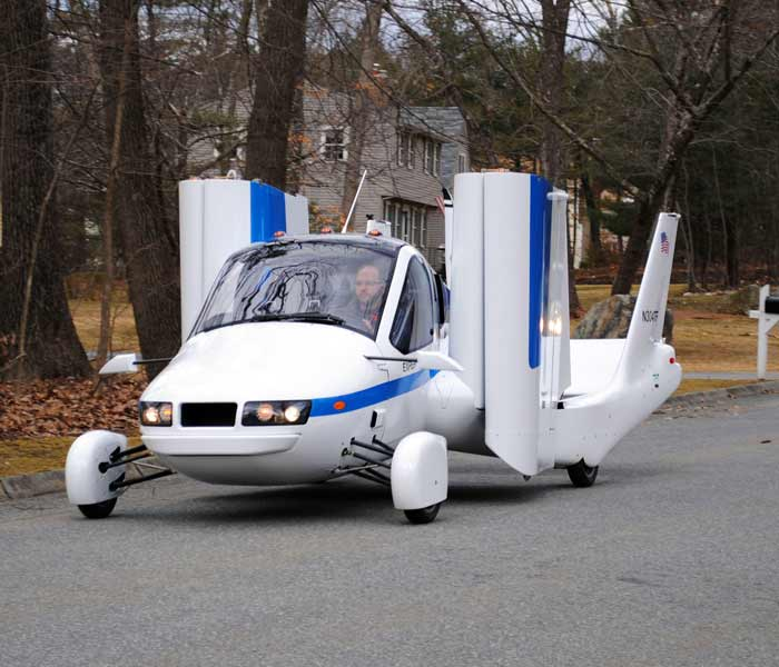 Flying car to become a reality soon