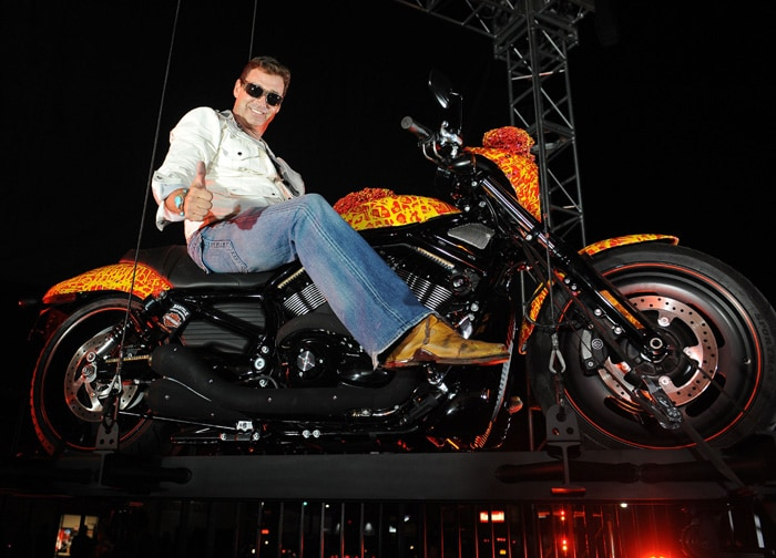 World\'s only million dollar Harley