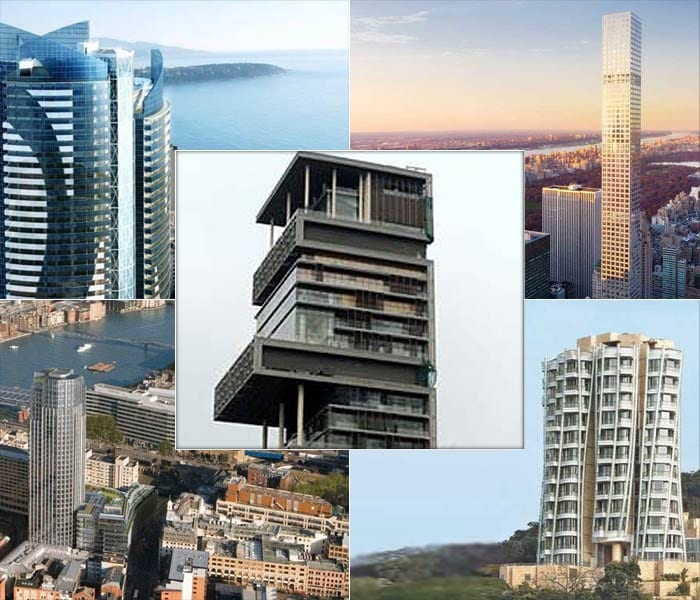 The world\'s top 10 costliest apartment homes