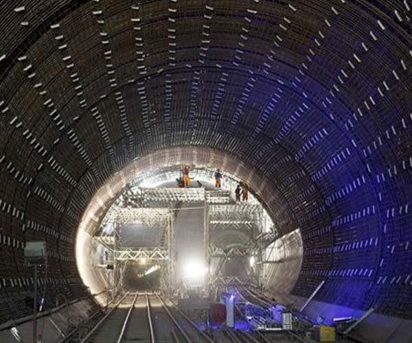 World's longest tunnel under Swiss Alps