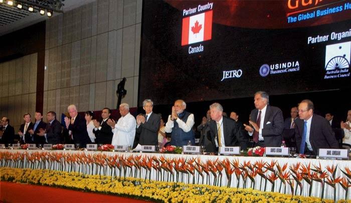 Investment pledges, praises galore at Modi\'s \'Vibrant Gujarat\' summit