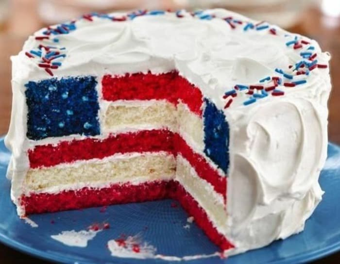 Food for the Fourth - Red, White and Blue Desserts