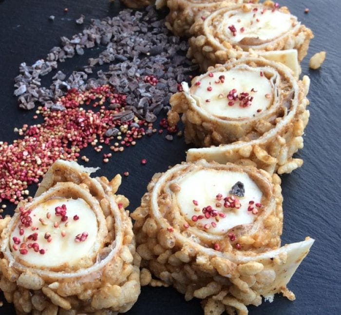 Banana Sushi Takes Healthy Snacking to a Whole New Level