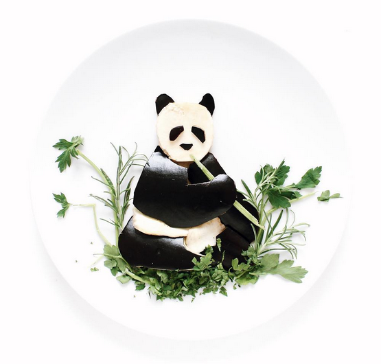 Art On a Plate: Leftover Meals Never Looked So Good