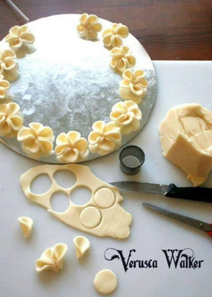How To Make Candied Flowers For Cake Decoration