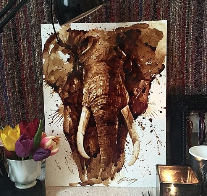 Coffee Creations: The Art of Painting with Coffee