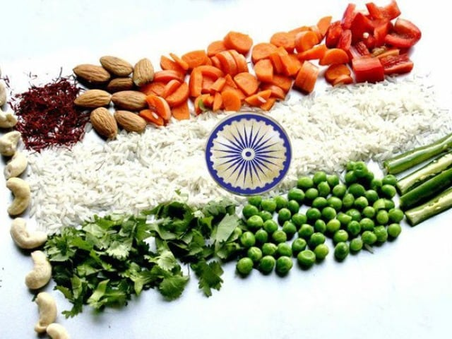 Photo : Colours of Independence: A Tri-Coloured Platter